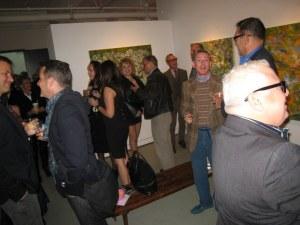 Art opening New York City