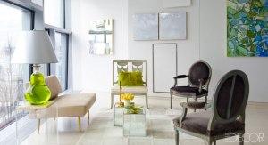 Steven Miller art installation in penthouse private residence New York