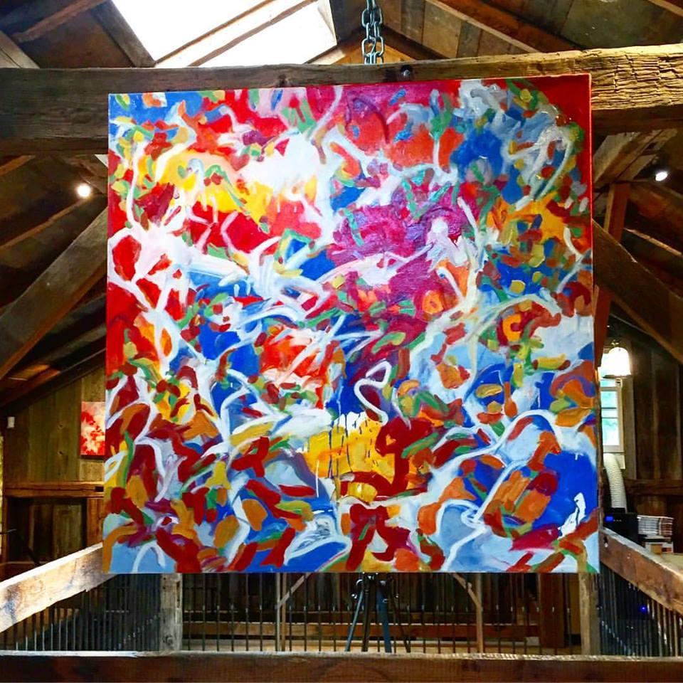 Installation The Smithy Loft Gallery