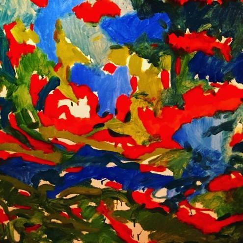 """Steven Miller oil on canvas 48x48"""""""
